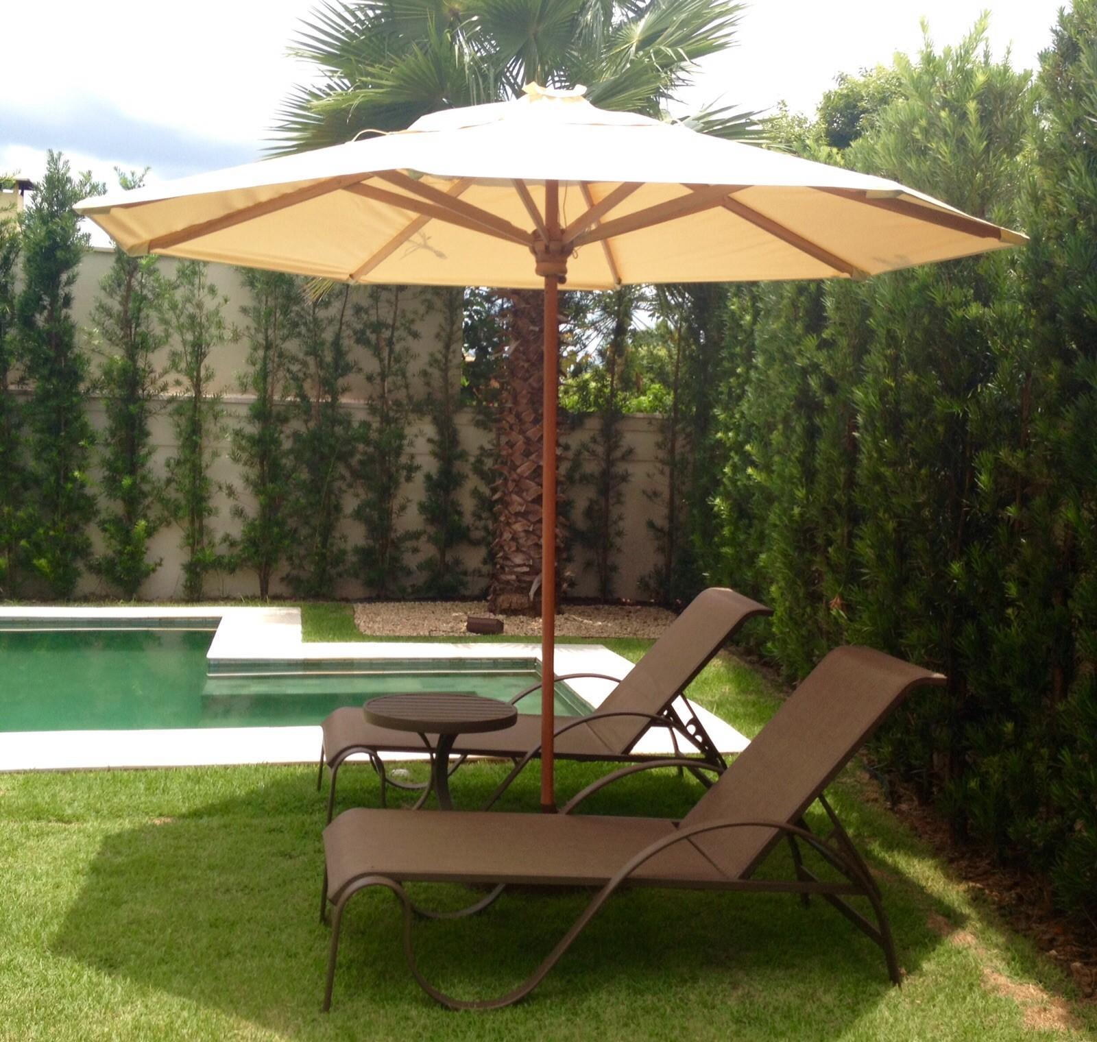Móveis piscina tela sling