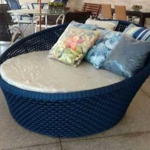 Fábrica de móveis em corda náutica